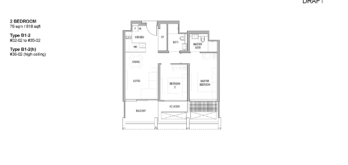 riviere-condo-floor-plan-2-bedroom-singapore