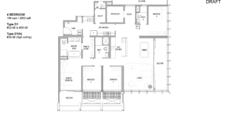 riviere-condo-floor-plan-4-bedroom-singapore